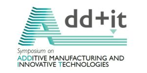Add+it Logo - Symposium on Additive Manufacturing and Innovative Technologies