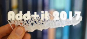 130 Experten beim 3D-Druck-Symposium Add+it 2017